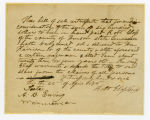 Slave deed from Robert Glass to William Harrison, Jr., Williamson County, Tennessee, 1848 April 22