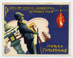 Peace on earth Christmas card,  circa 1945