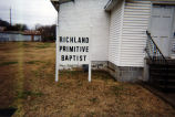 Richland Primitive Baptist Church, circa 2001