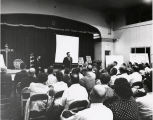 Photograph of town hall meeting about City of Nashville's annexation campaign, July 20, 1961