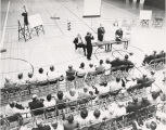 Photograph of town hall meeting about City of Nashville's annexation campaign, July 17, 1961