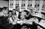Photograph of Nashvillians campaigning for Beverly Briley, ca. 1962