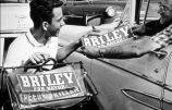 Photograph of Nashville man campaigning for Beverly Briley, ca. 1962