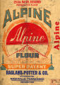 "Werthan Bag Corporation printing proof 007 -- ""Alpine"""