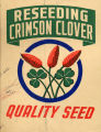 "Werthan Bag Corporation printing proof 031 -- ""Crimson Clover"""