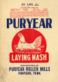 "Werthan Bag Corporation printing proof 035 -- ""Puryear"""