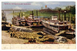 Scene on the Cumberland, Nashville, 1908