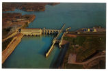 Old Hickory lock and dam, circa 1957