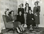 Group of Fannie Battle Social Workers territorial chairmen, circa 1949 December 16