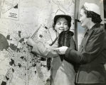 Mapping out territories, circa 1951 December 07