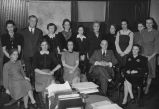 Nashville Public Library staff, circa 1942 January 14