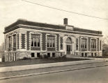 Photograph of the Negro Branch of the Carnegie Library, circa 1916