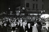 Crowd of onlookers at opening of Tennessee Theatre, 1952 February 28