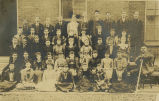 Class photograph of Fogg High School Juniors, 1892 May 03