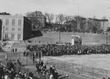 Football game day, Vanderbilt vs. UT at Shields-Watkins field in Knoxville, Tennessee, 1937...