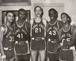 Photograph of the Hume-Fogg Basketball Team, 1969