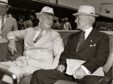 Photograph of President Franklin D. Roosevelt and Secretary of State Cordell Hull, circa 1934
