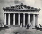 Photograph of the Parthenon in Nashville's Centennial Park, circa 1897