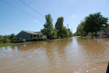 Flooding in the Harpeth Bend neighborhood of Bellevue during the May 2010 flood