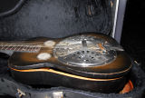 Guitar damaged during the May 2010 flood