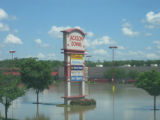 Jackson Downs shopping center in Donelson during the May 2010 flood