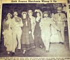 Sixth Avenue merchants whoop it up, from the Nashville Times, 1940