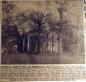 Historic home typical of antebellum days, from the Nashville Times, 1940