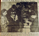 Demand for food stamps begins early Thursday, from the Nashville Times, 1940