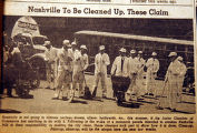 Nashville to be cleaned up, these claim, from the Nashville Times, 1940
