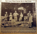 Soft drink stand profits go to the Red Cross, from the Nashville Times, 1940