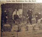 Looks like prohibition era, but ain't!, from the Nashville Times, 1940