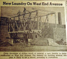New laundry on West End Avenue, from the Nashville Times, 1940