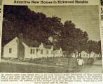 Attractive new homes in Kirkwood Heights, from the Nashville Times, 1940