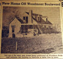 New home off Woodmont Boulevard, from the Nashville Times, 1940