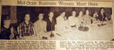 Mid-state business women meet here, from the Nashville Times, 1940