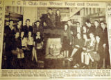 F. G. R. Club has weiner roast and dance, from the Nashville Times, 1940
