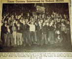 Times carriers entertained by Dodson shows, from the Nashville Times, 1940