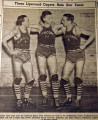 Three Lipscomb Cagers rate star team, from the Nashville Times, 1940