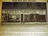 Broad Street store remodels, from the Nashville Times, 1940