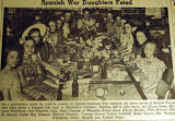 Spanish War daughters feted, from the Nashville Times, 1940