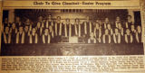 Choir to give classical, Easter program, from the Nashville Times, 1940