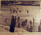 Frozen Cumberland River, from the Nashville Times, 1940