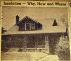 Insulation, why, how and where, from the Nashville Times, 1940