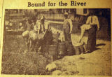 Bound for the river, from the Nashville Times, 1940