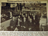 Grocers and clerks go to school at night, from the Nashville Times, 1940