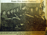 Kappa Phi's initiate freshmen, from the Nashville Times, 1940