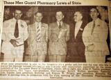 These men guard pharmacy laws of state, from the Nashville Times, 1940