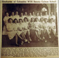 Graduates of Columbia NYA Beauty Culture School, from the Nashville Times, 1940 March 01