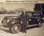 Johnson Cleaners adds another truck, from the Nashville Times, 1940