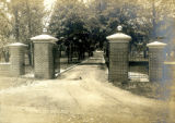 Entrance to the Bonnie Brae residence, Nashville, Tennessee, n.d.